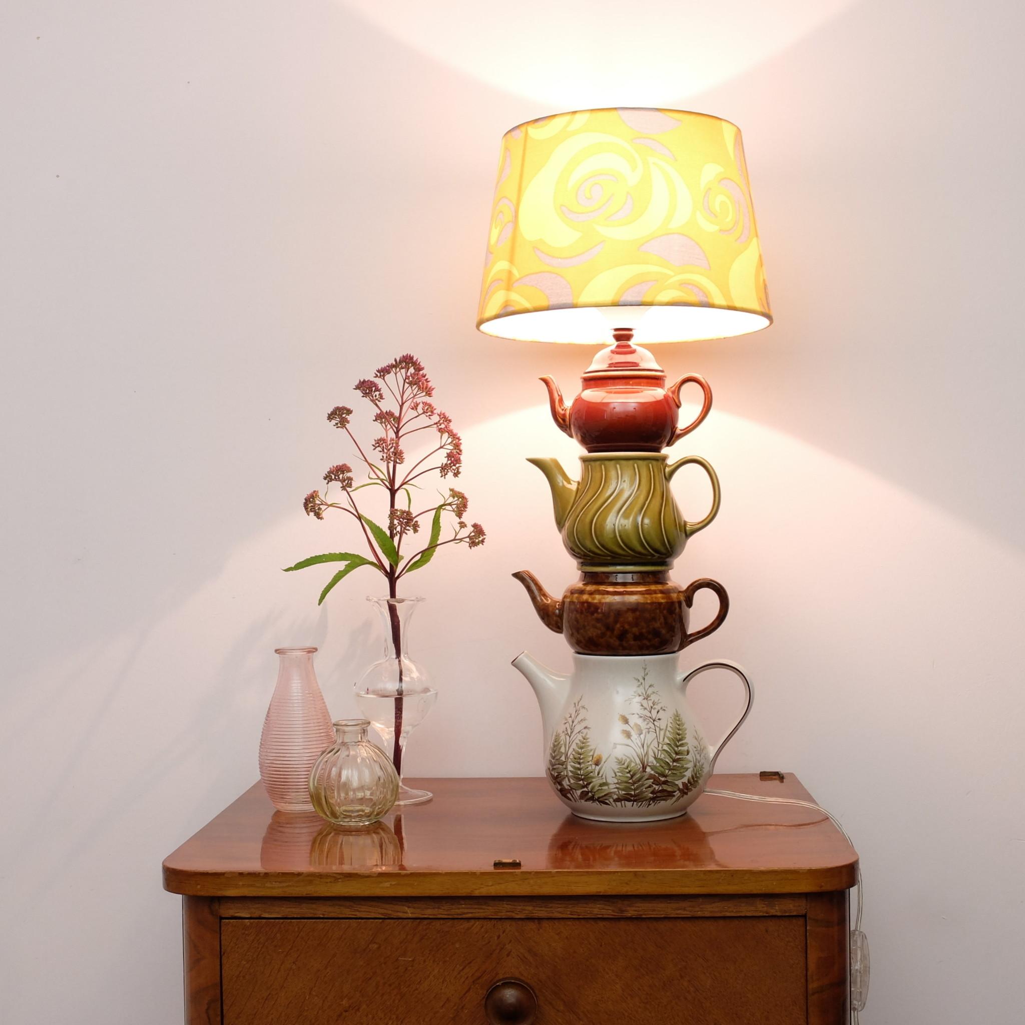 Theepotten lamp
