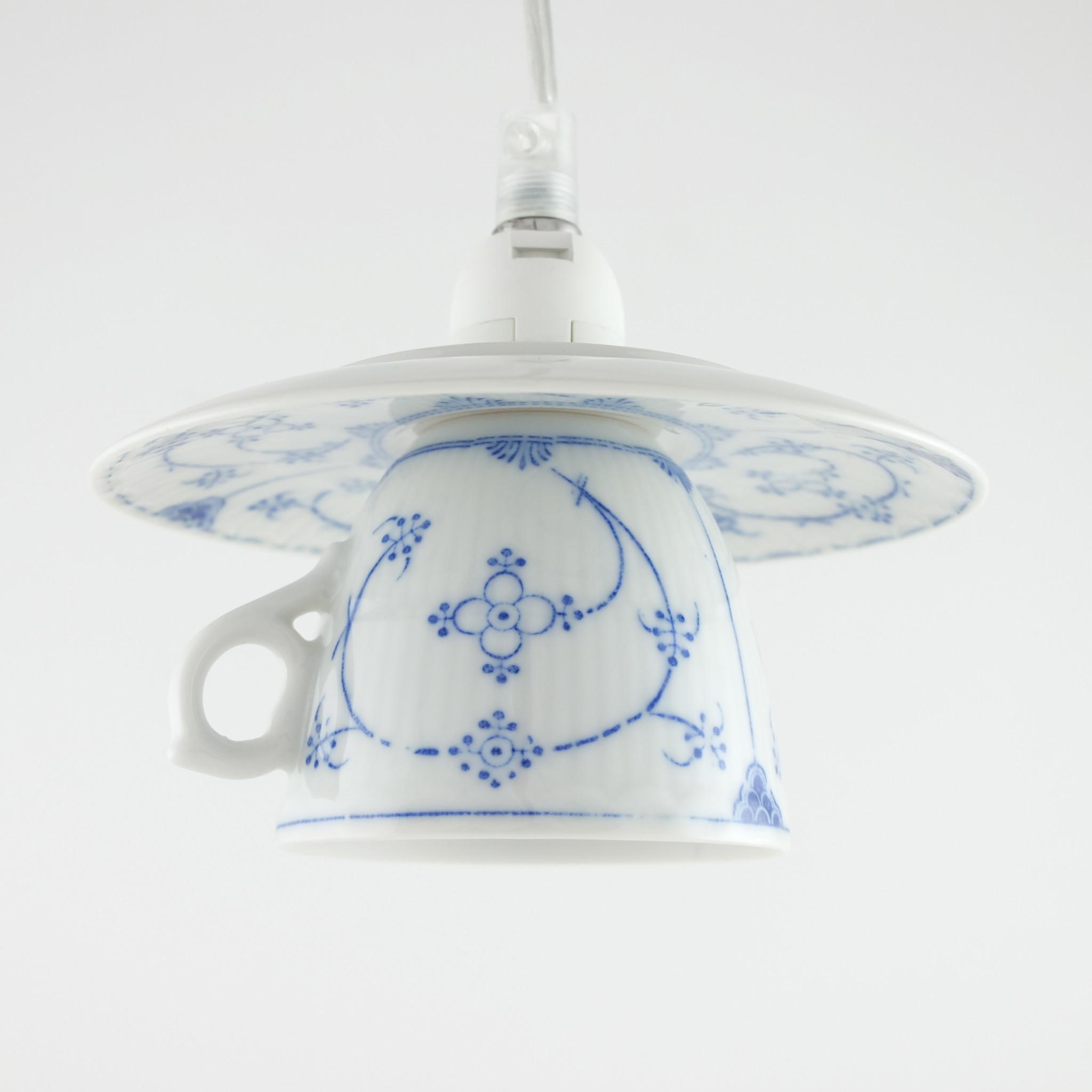 Theekop lamp